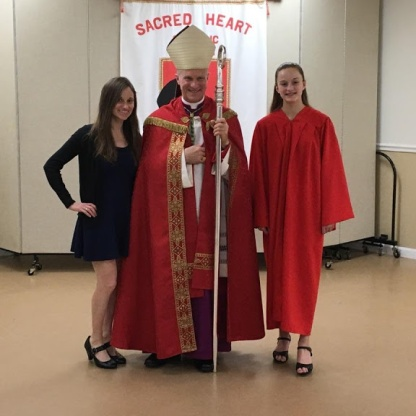 Summer receives her Confirmation