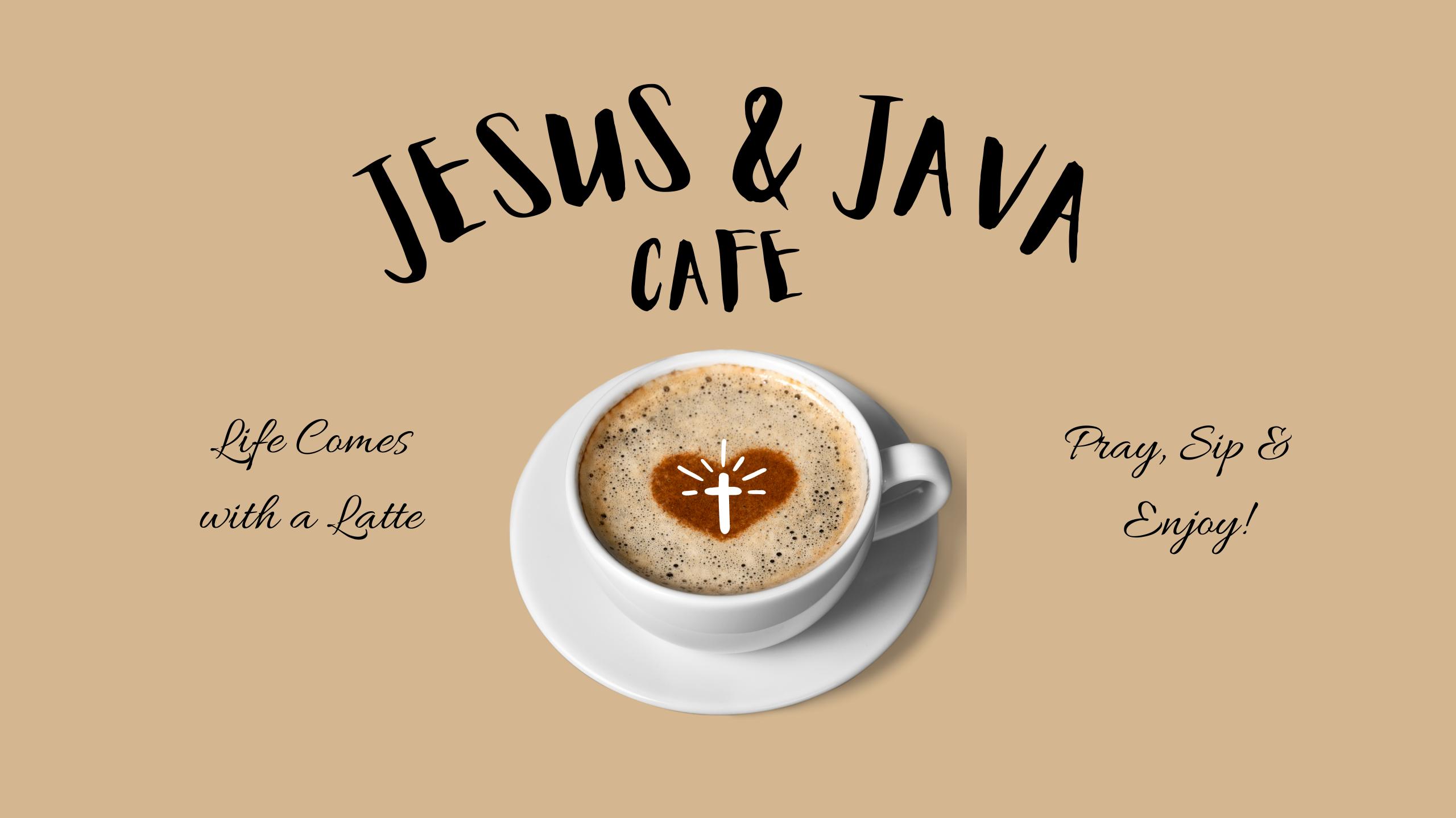 _ Jesus Java Youtube Cafe Banner